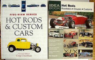 Book Set Hot Rods, Custom Cars, Coupes Dain Gingerelli, Craig Cheetham