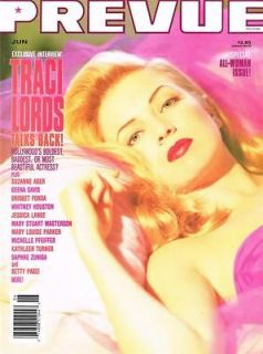 Traci Lords in Magazine Back Issues