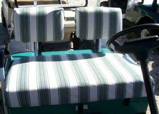 Golf Cart Seat & Back Covers EZGO Marathon pre94 SUNBRELLA   66 colors