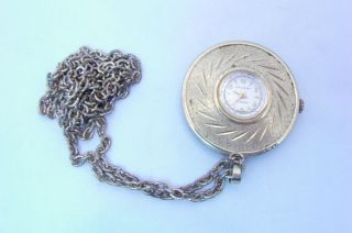 Vintage Womens Crosby Pendant Watch   17 Jewels
