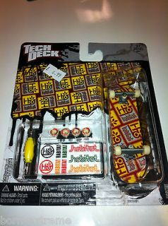 TECH DECK HABITAT FINGER SKATEBOARD TOY