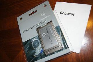 Mercedes Benz CL S C GLK Class PCMCIA Multi Card Reader Adaptor