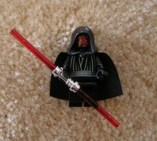 LEGO STAR WARS DARTH MAUL MINIFIG toy figure person