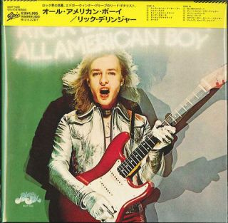 RICK DERRINGER ALL AMERICAN BOY JAPAN MINI LP CD LTD D99