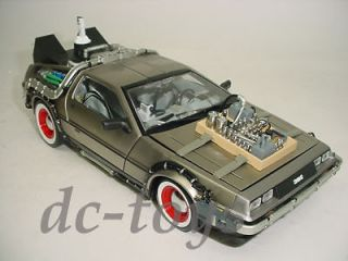 Time Machine Back To The Future Delorean 118 Part 3