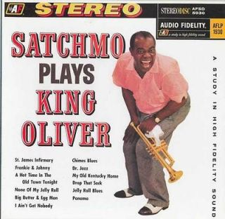 Newly listed Louis Armstrong, Satchmo Plays King Oliver LP Test