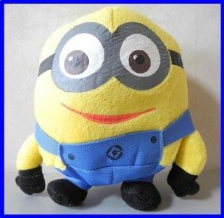 Despicable Me Minion DAVE Character Plush Toy Stuffed Animal 6.5H