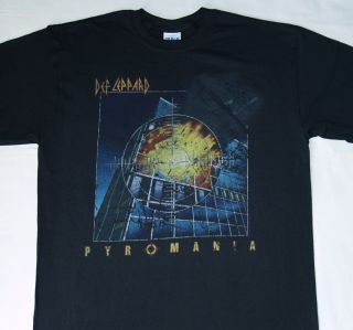 DEF LEPPARD   Pyromania   OFFICIAL T SHIRT New S M L XL