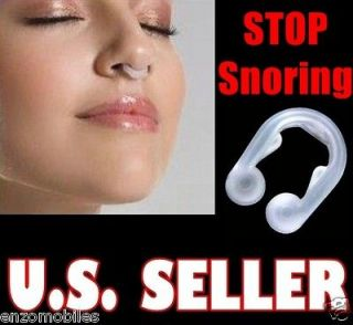 NEW STOP SNORING CLIP ANTI SNORE PREVENTION AT NIGTH   AID SNORE