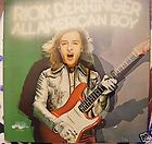 1973 RECORD ALBUM LP RICK DERRINGER ALL AMERICAN BOY NEAR MINT VINYL