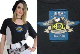 Vintage 90s Tee shirt 90s womens Harley Davidson motorcycle biker
