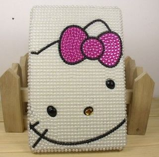 Black hello kitty Crystal Bling Diamond cover case for  Kindle