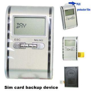 SIM Card Backup Device LCD Reader 1000 groups name&number for CDMA/GSM