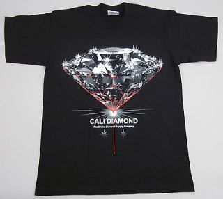 CALI DIAMOND T shirt Global Diamond Supply Company Adult Mens Tee