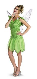 Disney Tinker Bell Fairy Adult Halloween Costume