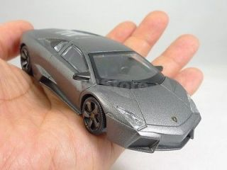 Rastar 143 DieCast Lamborghini Reventon Model Car Grey New