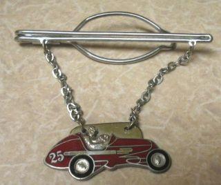 Vintage Sprint Car Racing Dirt Track Midget cloisonne HOOKFAST? #25