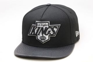 New Era Los Angeles LA Kings Snake Skin Strapback Hat [Black] Snapback