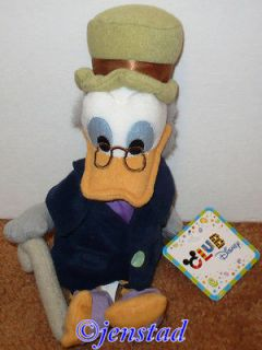 OLD DEWEY NEPHEW OF SCROOGE MCDUCK DONALD DUCK DISNEY RUBBER BATH