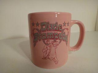 Kilncraft England Advertising Dixie Stampede Pink Coffee Mug Tea Mug