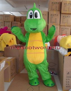New YOSHI From Super Mario Mascot Costume Fancy Dress Adult SIZE