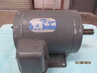 DOERR 3HP ELECTRIC MOTOR, 230/460 VOLTS, 3 PHASE
