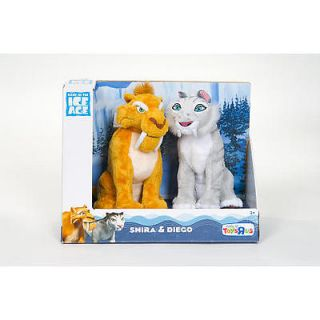 Ice Age Continental Drift Plush 2 Pack   Shira and Diego