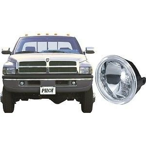 Dodge Ram Custom Driving Light Kit, Clear fog Lights set pair wiring