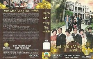 Danh Mon Vong Toc, phim Hong Kong, tron bo 40 tap, 6 DVDs