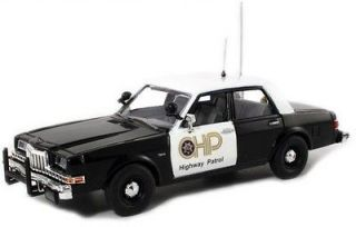 43 CHP California Highway Patrol #2 Dodge Diplomat Police Car