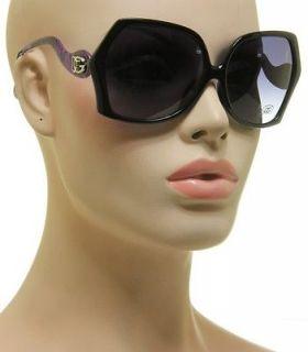 Designer Fashion DG Sunglasses Animal Print Black And Purple Frame 891