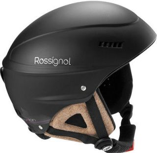 2013 ROSSIGNOL WOMENS TOXIC 2 SKI SOFT SIDED HELMET 55 / 56 cm BLACK