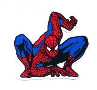 SPIDERMAN Kid Wall Video Games Decal Vinyl Sticker O84