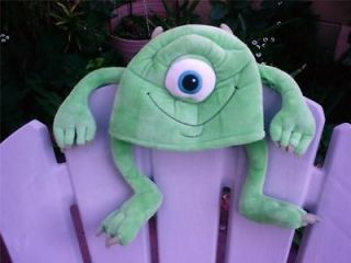 RARE! EURO DISNEY STORE PIXAR MONSTERS INC MIKE WAZOWSKY PLUSH COSTUME