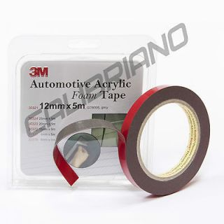 GT600812 Automotive Acrylic Foam Double Sided Attachment Tape. 12 mm