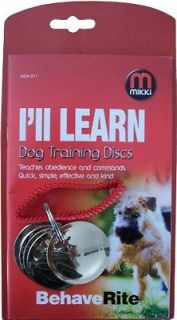 dog training discs