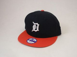 Detroit Tigers Kids Snapback Hat New Era Youth 950 Cap Adjustable