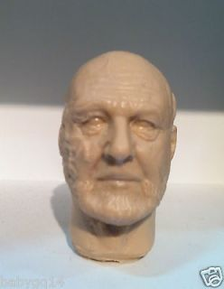 CUSTOM 1/6 Dr. Sam Loomis Unpainted Head Halloween Michael Myers