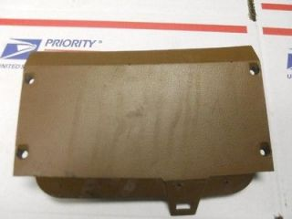 93 DODGE RAM 250 PICKUP FUSE BOX COVER TAN