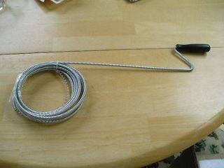 10 Foot Spring Steel Drain and Trap Cleaner