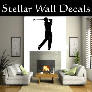 Golf Sport Wall Car Vinyl Decal Sticker MC005