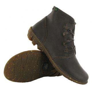 El Natura Lista Grain 005 Humo Savia Brown Womens Boots
