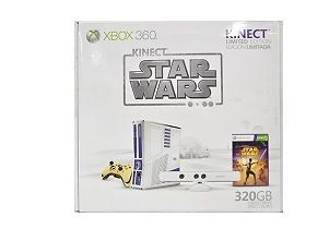 Newly listed Microsoft Xbox 360 Slim Limited Edition Star Wars 320GB