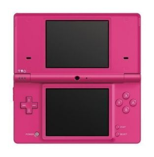 Black Nintendo DSI handheld system with 2 games. Japanese import.