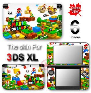 Super Mario 3D Land Cute DECAL VINYL STICKER COVER Skin for Nintendo