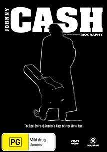 JOHNNY CASH UNAUTHORISED BIOGRAPHY DVD BRAND NEW