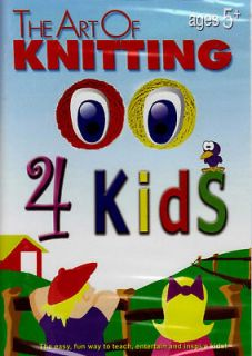 Video Especially Made for Children The Art of Knitting for Kids DVD