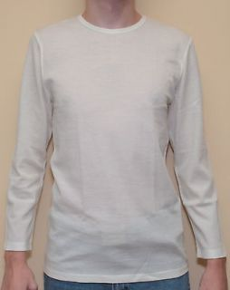 Mens Shirt Long Sleeve Wool Blend Thermal Warm Underwear Outdoor New