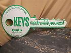 Keys Sign   Double Sided Die Cut Key Shaped Sign   Eastlake Ohio