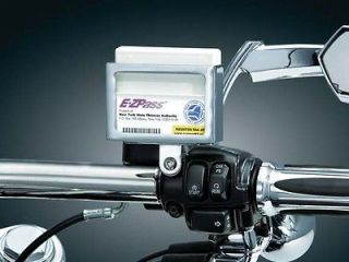 YAMAHA CRUISER UNIVERSAL EZ PASS I PASS HOLDER CHROME by KURYAKYN 1684